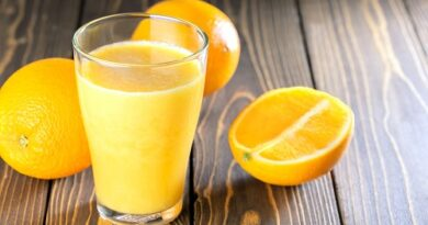 Orange juice can boost your immune system in winter